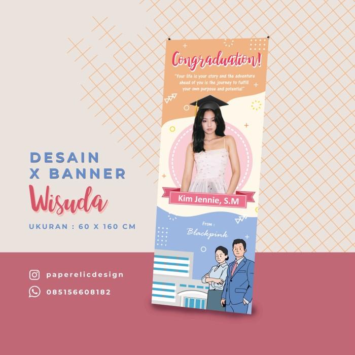 Jual Banner Wisuda Individu Xbanner Individu Xbanner Sidang Desain Kab Magelang Paperelic Design Tokopedia