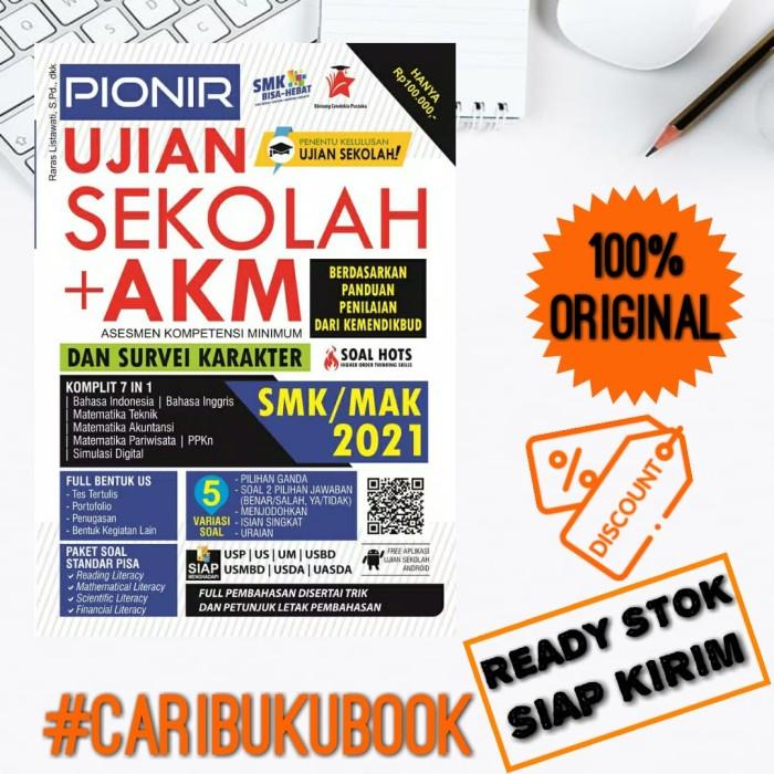 Jual Buku Un Smk Pionir Ujian Sekolah Akm Survei Karakter Smk 2021 Kab Sleman Cari Buku Book Tokopedia