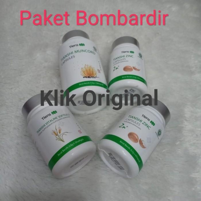 Foto Produk Paket Bombardir Tiens 1 Muncord 2 Zinc 1 Vitaline Original 100% dari Klik Original
