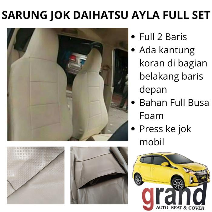 Foto Produk Sarung Jok Cover Jok Mobil Daihatsu Ayla Full Set Grand Original - Hitam dari Omega Motor