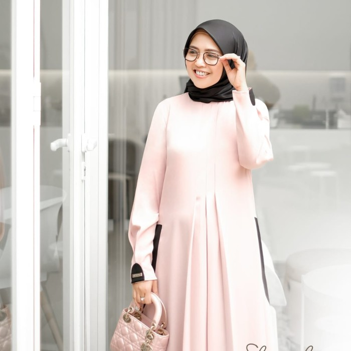 Jual New Arrival Shura Dress Dress Saja By Shararea Pink Xl Jakarta Barat Almirabajuanak Tokopedia