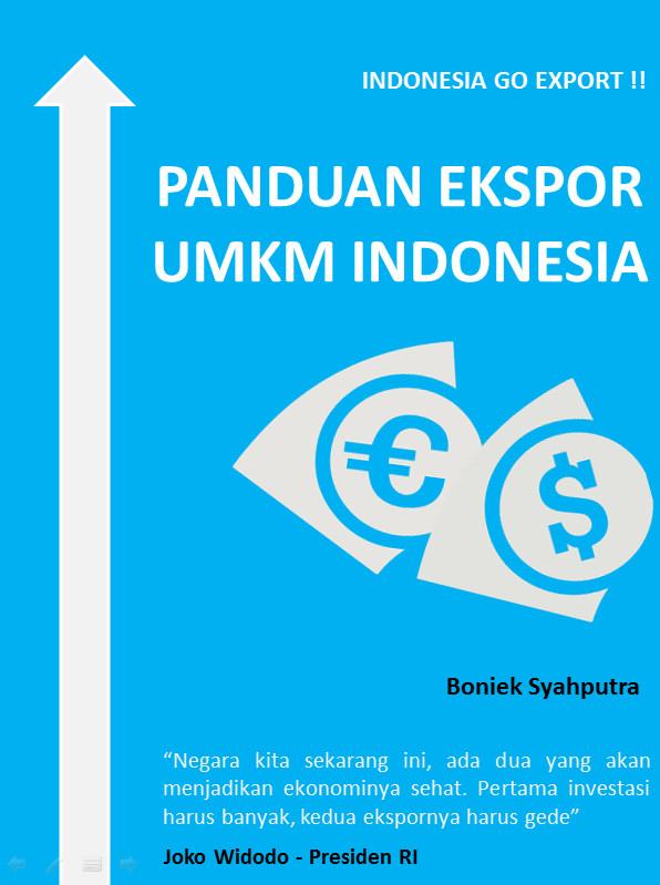 Foto Produk Buku Panduan Ekspor Praktis Untuk UMKM Indonesia dari Optima Management