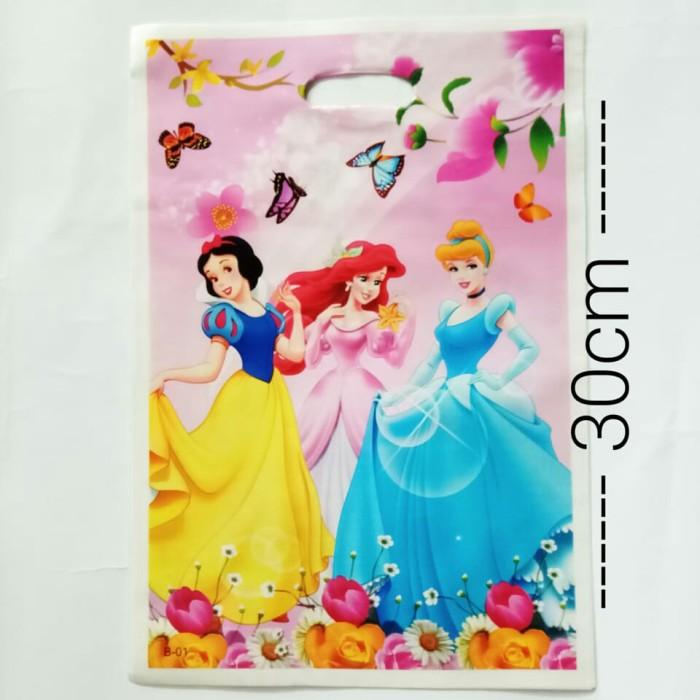 Foto Produk plastik snack plastik souvenir ulang tahun tenteng karakter princess dari recht shop