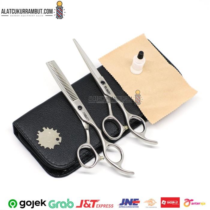 Foto Produk Gunting Potong Rambut Gunting Sasak Rambut Set Gunting Rambut Tajam dari alat cukur rambut