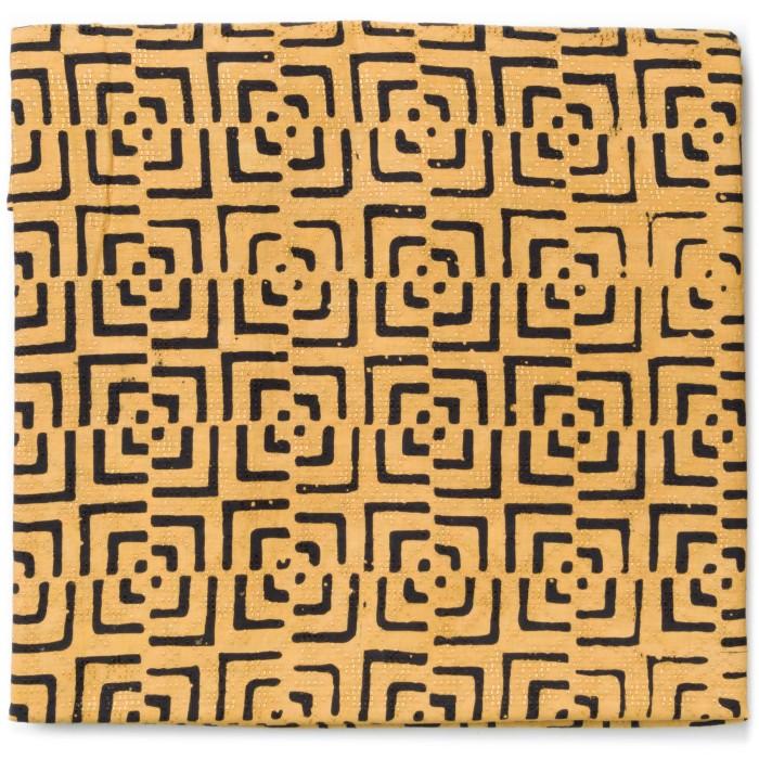 Foto Produk Kain Batik Cap Dobby Motif Kotak Abstrak Kontemporer dari Kainusa