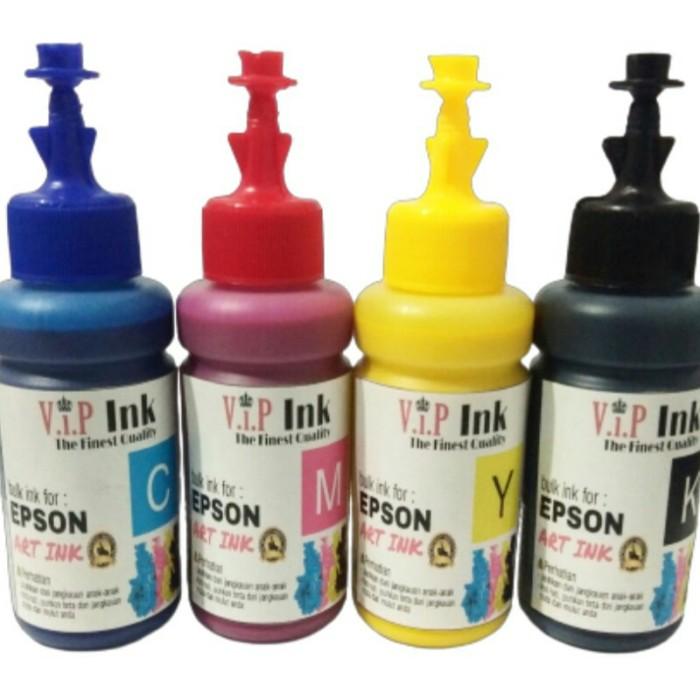 Foto Produk Paket Tinta Isi Ulang Art Paper Epson 100ml 4 botol dari Mitraink