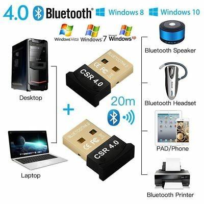 Foto Produk Mini USB Adapter Bluetooth V4.0 CSR / USB Bluetooth Dongle 4.0 dari AnerStore