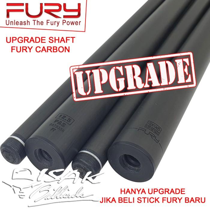 Foto Produk Upgrade Shaft Fury Carbon Low Deflection - Radial / Uniloc Joint dari ISAK Billiard Sport Co.