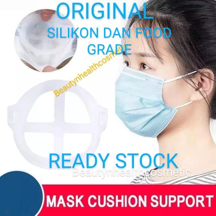 Foto Produk PENYANGGA MASKER 3D MASK BRACKET SILIKON SIRKULASI UDARA dari beautynhealthcosmetic