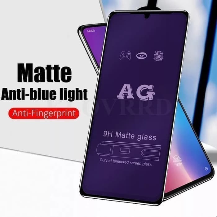 Foto Produk REALME 7 / 7i TEMPERED GLASS ANTI BLUE LIGHT MATTE FULL COVER dari factory acc