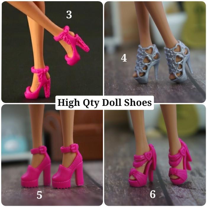 Foto Produk Sepatu Boneka High Quality Doll Shoes - dua dua dari likebarbie