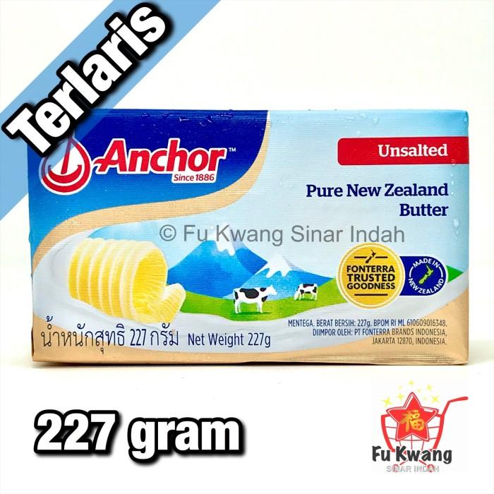 Foto Produk Anchor Unsalted Butter 227 gram dari Fu Kwang Mart