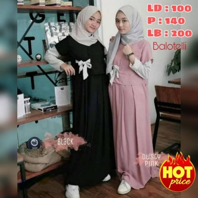 Jual Promo Denada Dress Gamis Remaja Terbaru 2020 Denada Gamis Remaja Jakarta Barat Tokokailashoop Tokopedia