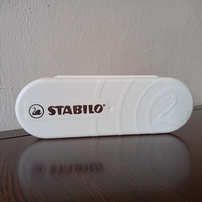 Foto Produk Tempat Pensil Stabilo / Stabilo Pencil Case - Putih dari officemart
