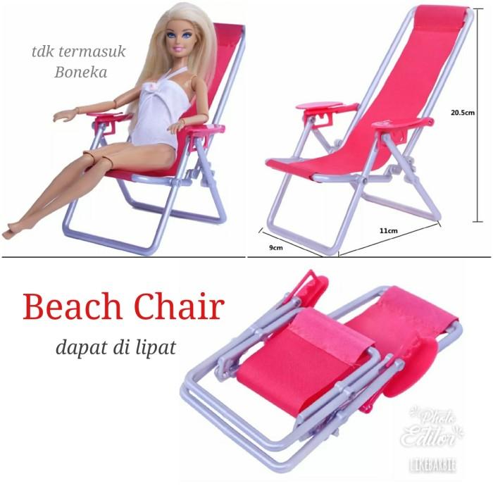 Foto Produk Furniture Kursi Pantai Untk Boneka dari likebarbie