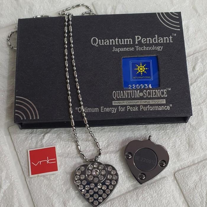Foto Produk Kalung Kesehatan Quantum Pendant Motif Segiempat Permata dari Vintaco