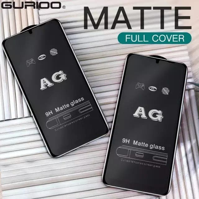 Foto Produk REALME 7 / 7i TEMPERED GLASS MATTE FROSTED FULL COVER dari factory acc