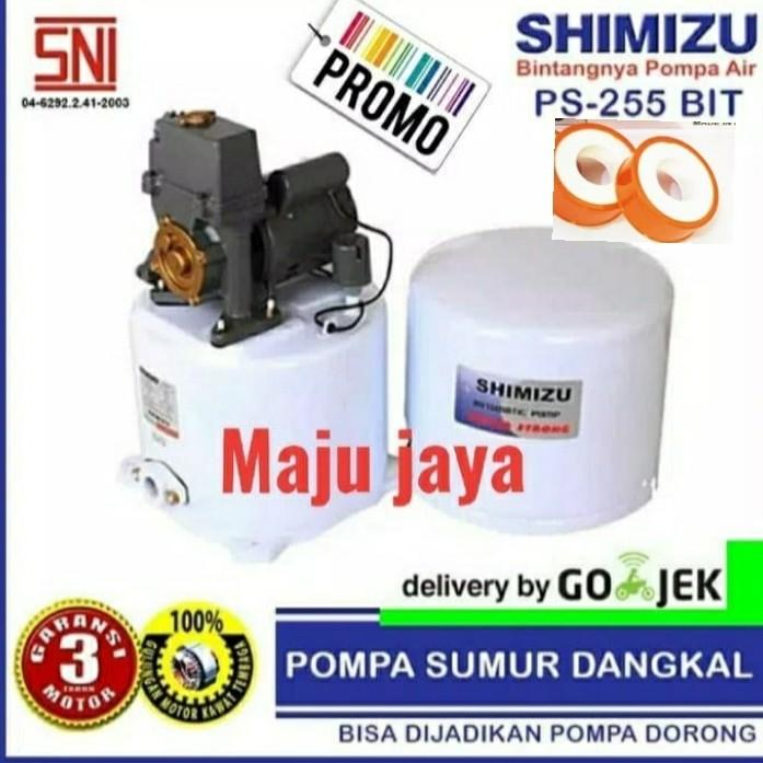 Jual Pompa air dangkal SHIMIZU ps 255 bit panasonic wasser ...