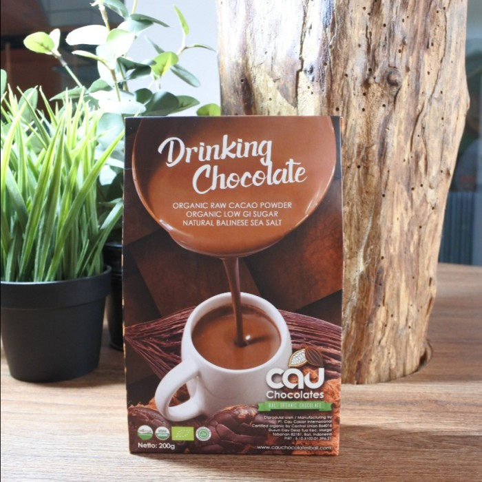 Foto Produk Cau Chocolates Drinking Chocolate Organic 200gr dari Kantin Organik