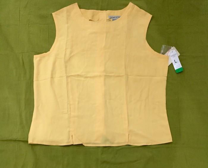 Foto Produk Blouse wanita N0tations Yellow - S dari au'let