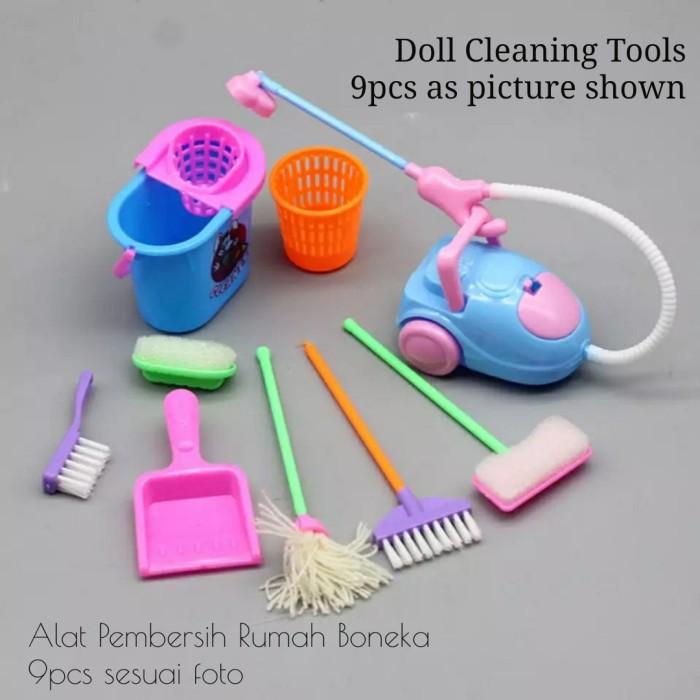 Foto Produk Alat Pembersih Cleaning Tools Untk Boneka dari likebarbie