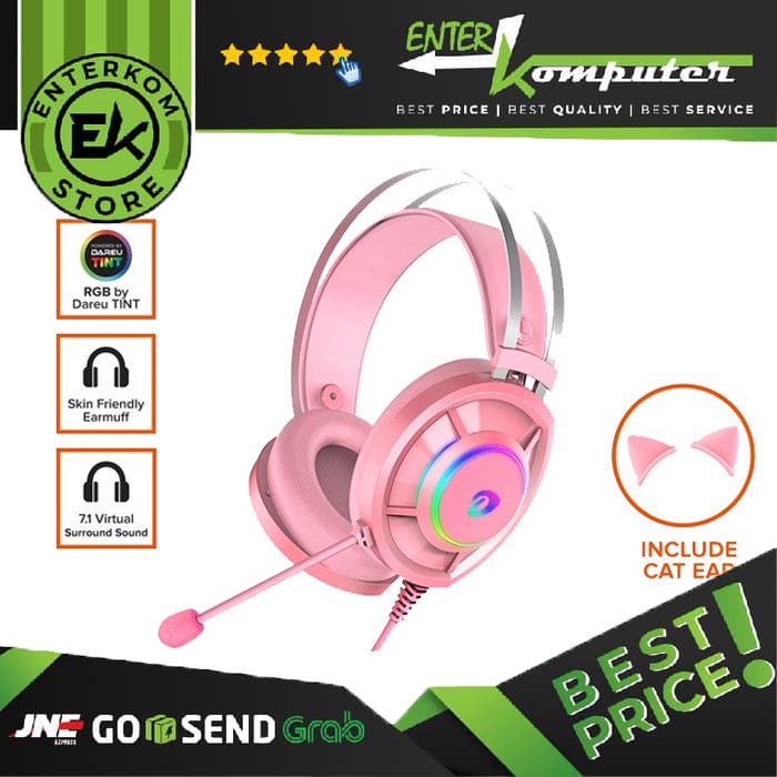 Dareu Mirror EH-469 Pink Gaming Headset