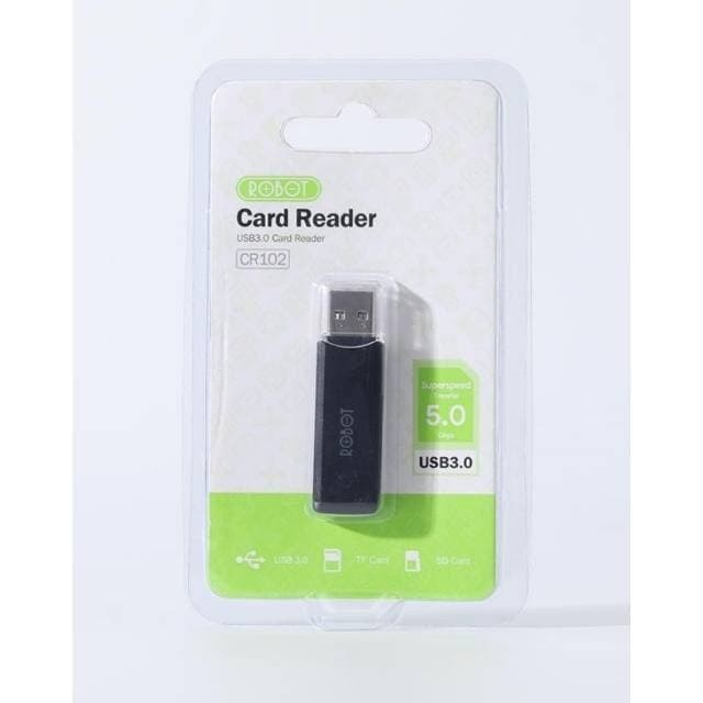 Foto Produk CardReader Robot CR102 USb 3.0 Card Reader CR 102 dari PojokITcom Pusat IT Comp