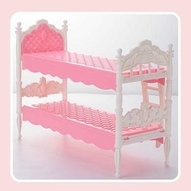 Foto Produk Bunk Bed Ranjang Susun Boneka - pink dari likebarbie