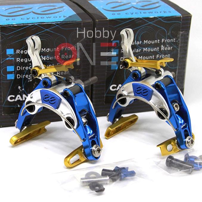 Foto Produk Cane Creek EE Brake Gen 4 El Chulo Edition Reguler Mount Set Blue Gold dari HobbyOne