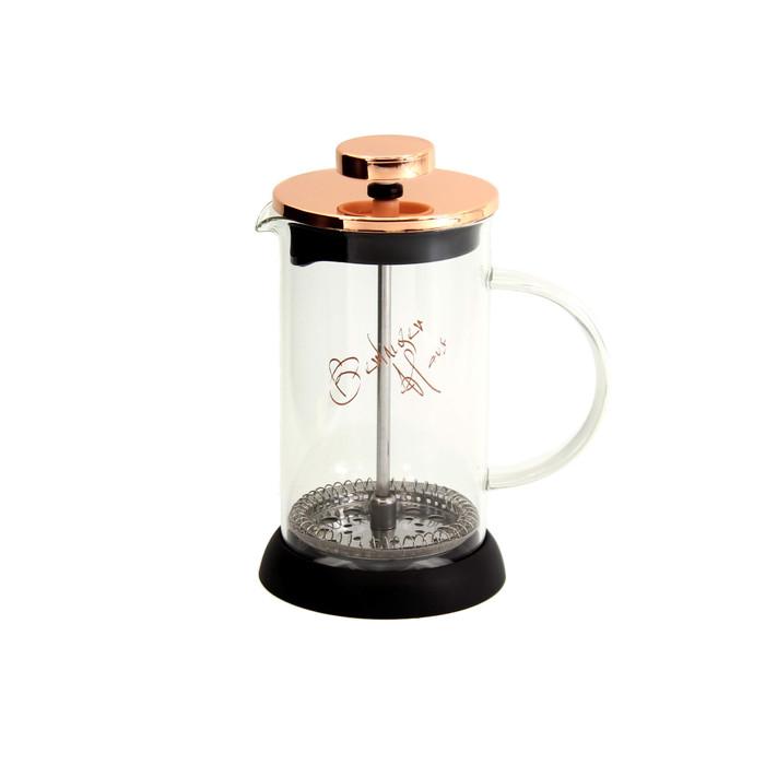 Foto Produk BERLINGER HAUS COFFEE TEA PLUNGER ROSE GOLD / PEMBUAT TEH KOPI 600 ML dari Homeco Living Official