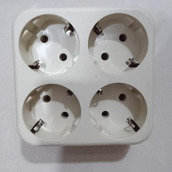 Foto Produk Stop Kontak Steker 4 In 1 Uticon S-448 dari good_price store 2