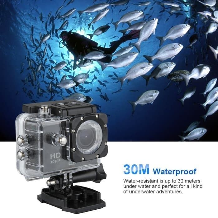 Foto Produk Kogan Action Camera - Sport Camera HD DV 12MP 1080p Water Ressistant dari Toko_Moerah