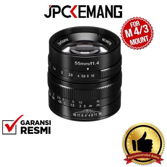 Foto Produk 7Artisans 55mm f1.4 for Panasonic Olympus MFT 55mm f/1.4 GARANSI RESMI dari JPCKemang