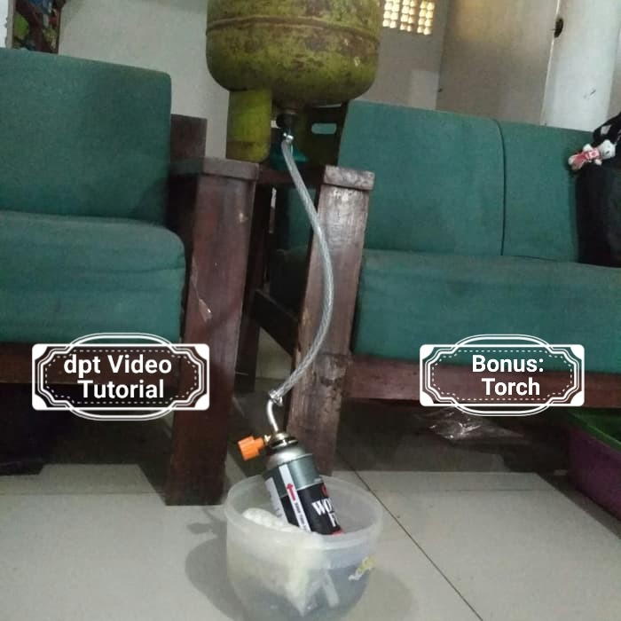 Foto Produk Termurah!!. . Alat refill isi ulang gas kaleng, praktis 3 menit aja! dari farteknikshop