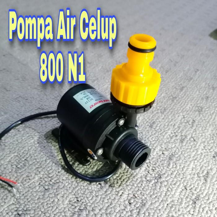 Foto Produk Pompa Air Celup N1 800 L/H DC 12V Mini Aquarium Hidroponik dari GG outlet
