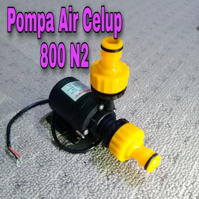 Foto Produk Pompa Air Celup N2 800 L/H DC 12V Hidroponik Aquarium dari GG outlet
