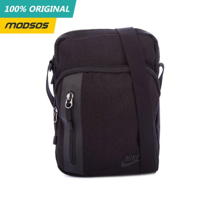 Foto Produk TAS SLING BAG PRIA NIKE TECH SMALL BLACK ORIGINAL dari Modsos