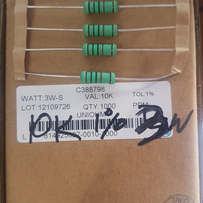 Foto Produk Resistor 10K 1% 3W Metal film dari Bietronik