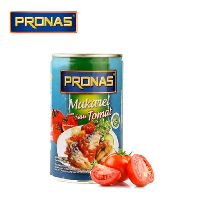 Foto Produk Pronas Sarden Makarel Saus Tomat 155gr dari MelzCorp