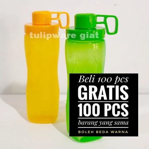 Foto Produk SALE Botol Minum Anti Tumpah / Splash Bottle Bright Series Tulipware dari TULIPWARE collection
