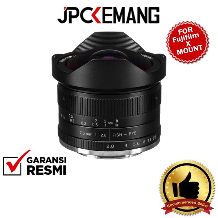 Foto Produk 7artisans 7.5mm f2.8 7artisans 7.5mm f/2.8 Fisheye GARANSI RESMI - Fujifilm X dari JPCKemang