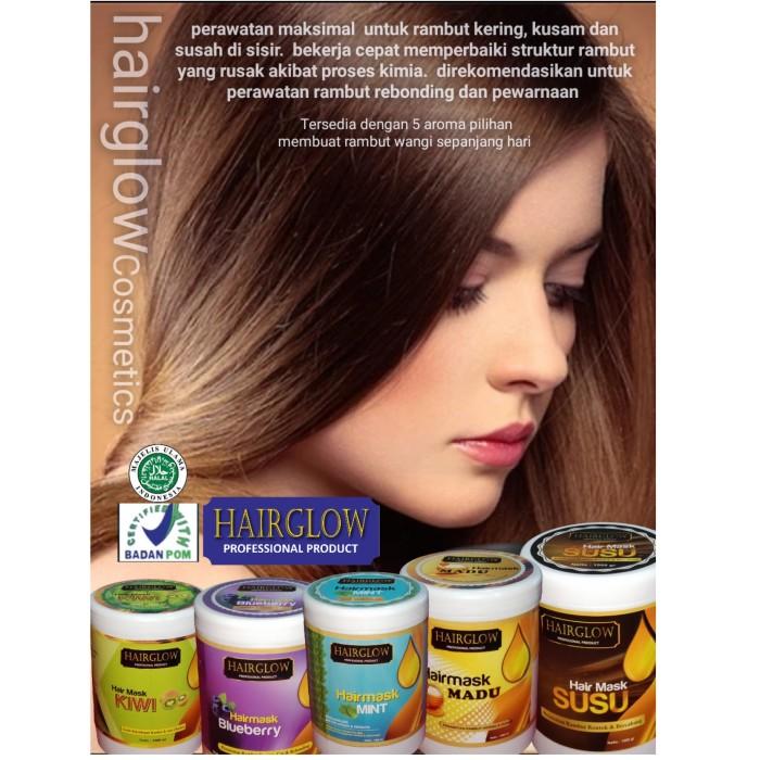 Jual Hairglow Hair Mask Masker Rambut Bebas Rontok Dan Bercabang Kab Bogor Hairglowcosmetic Tokopedia