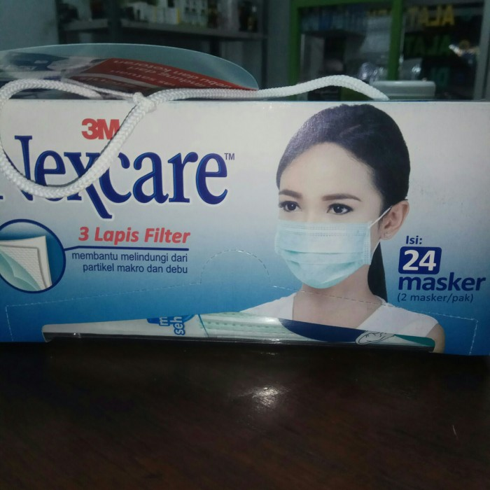Foto Produk MASKER NEXCARE 3 M Karbon Aktif - PENCEGAH VIRUS CORONA dari Toko Maslahat