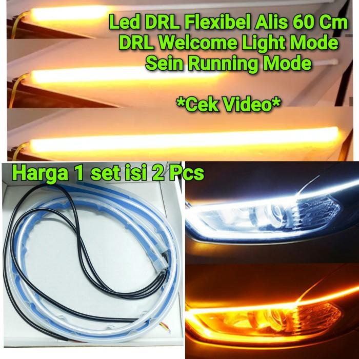 Foto Produk lampu led senja led alis DRL flexibel slim sein flowing lexus MOBIL - Merah dari AUTONOMOUS