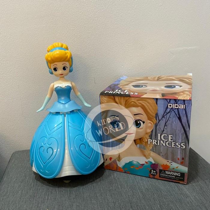 Foto Produk Mainan Anak Perempuan Ice Princess Rotating Dance Light Music dari Kiddies World