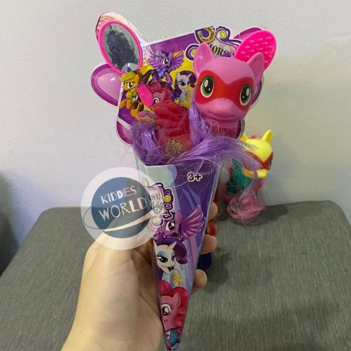 Foto Produk Mainan Anak Perempuan Figure Little Pony Cone Termurah dari Kiddies World