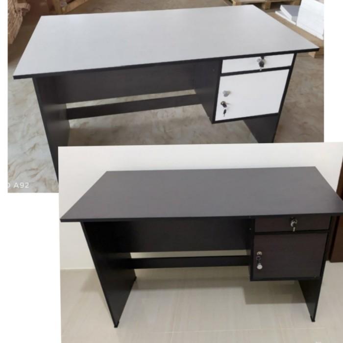 Jual Meja Tulis Meja Kantor Meja Kerja Grace 124 Termurah Kota Bekasi Anna Furniture Tokopedia