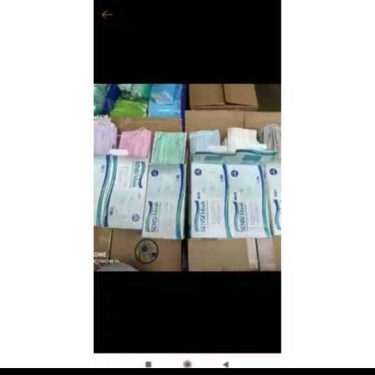 Foto Produk masker sensi earloop 3ply isi 50 - Hijau dari suharti 123