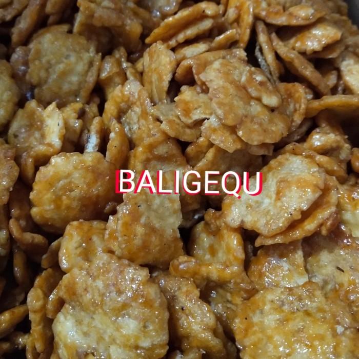 Foto Produk Emping Belinjo Melinjo 500 Gram dari Baligequ