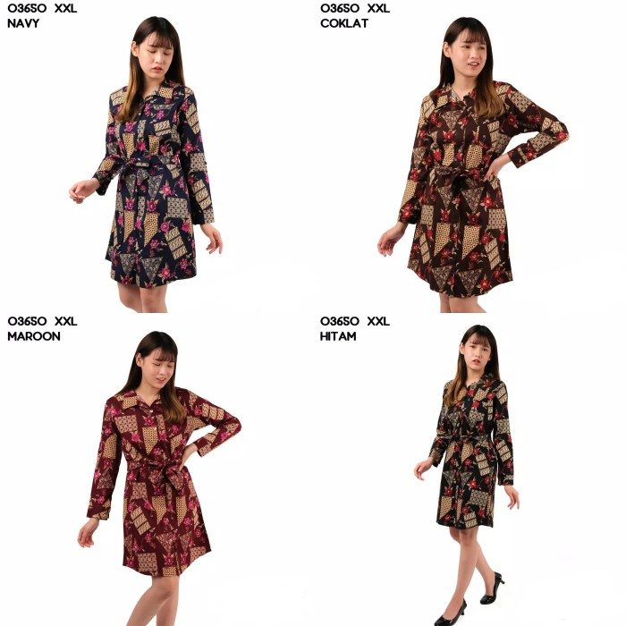Foto Produk Tunik Batik 03650 XXL dari Wallsticker shop